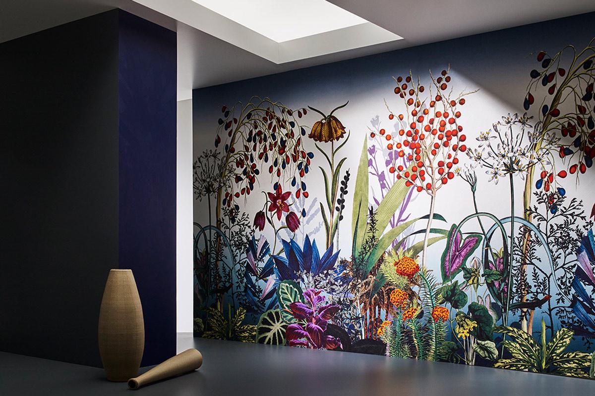 bernhard duss-jakob schlaepfer-wallcoverings-textiledesign-tapeten-designer-custom made wallcovering-inkjetprint