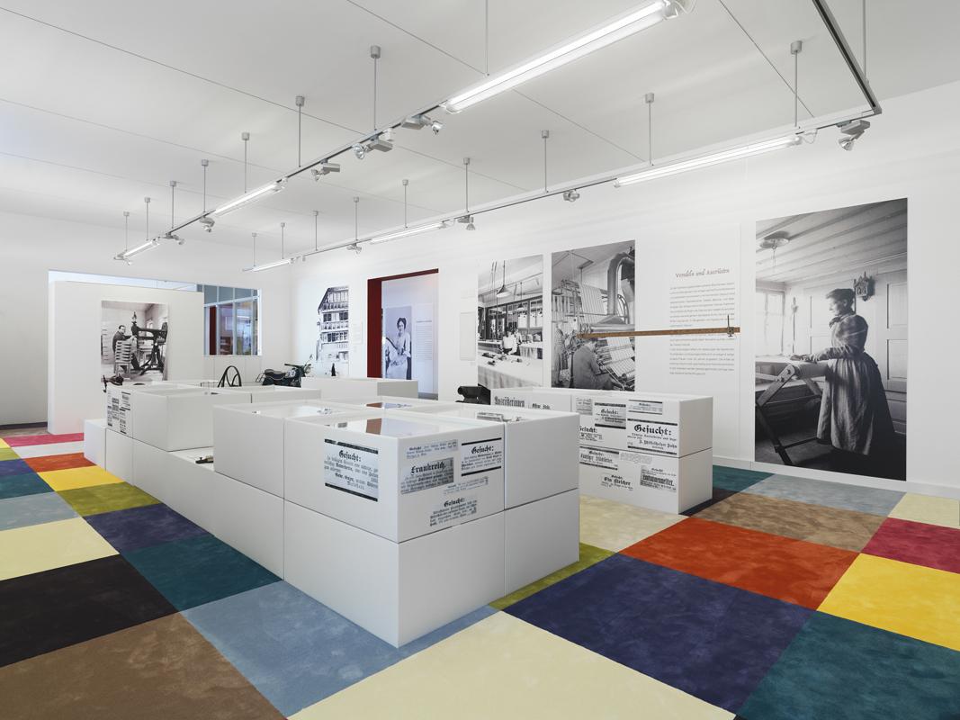 Bernhard Duss-Ausstellungsszenografie-Szenograf-Textildesign
